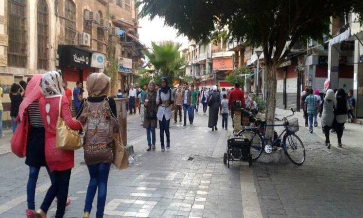 شوارع دمشق - مواقع التواصل