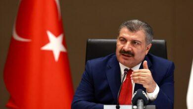 Photo of وزير الصحة التركي يوجه رسالة هامة إلى الشعب التركي
