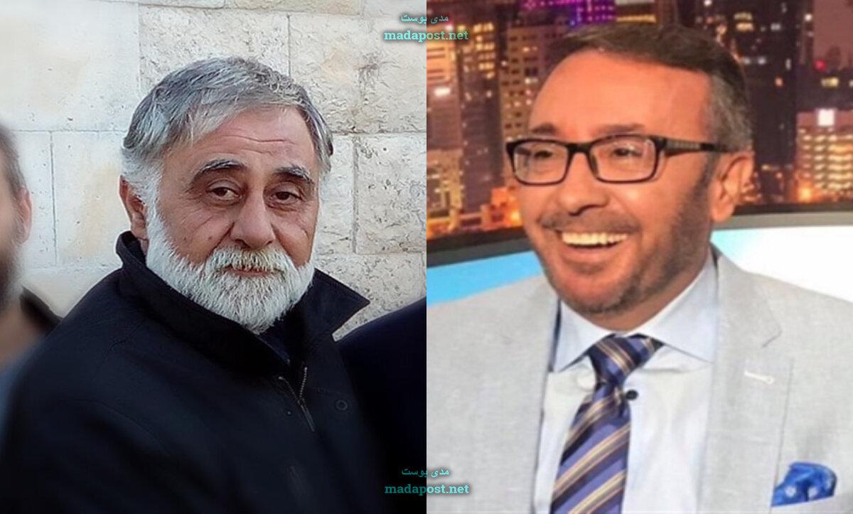فيصل القاسم وبشار برهوم - مواقع التواصل