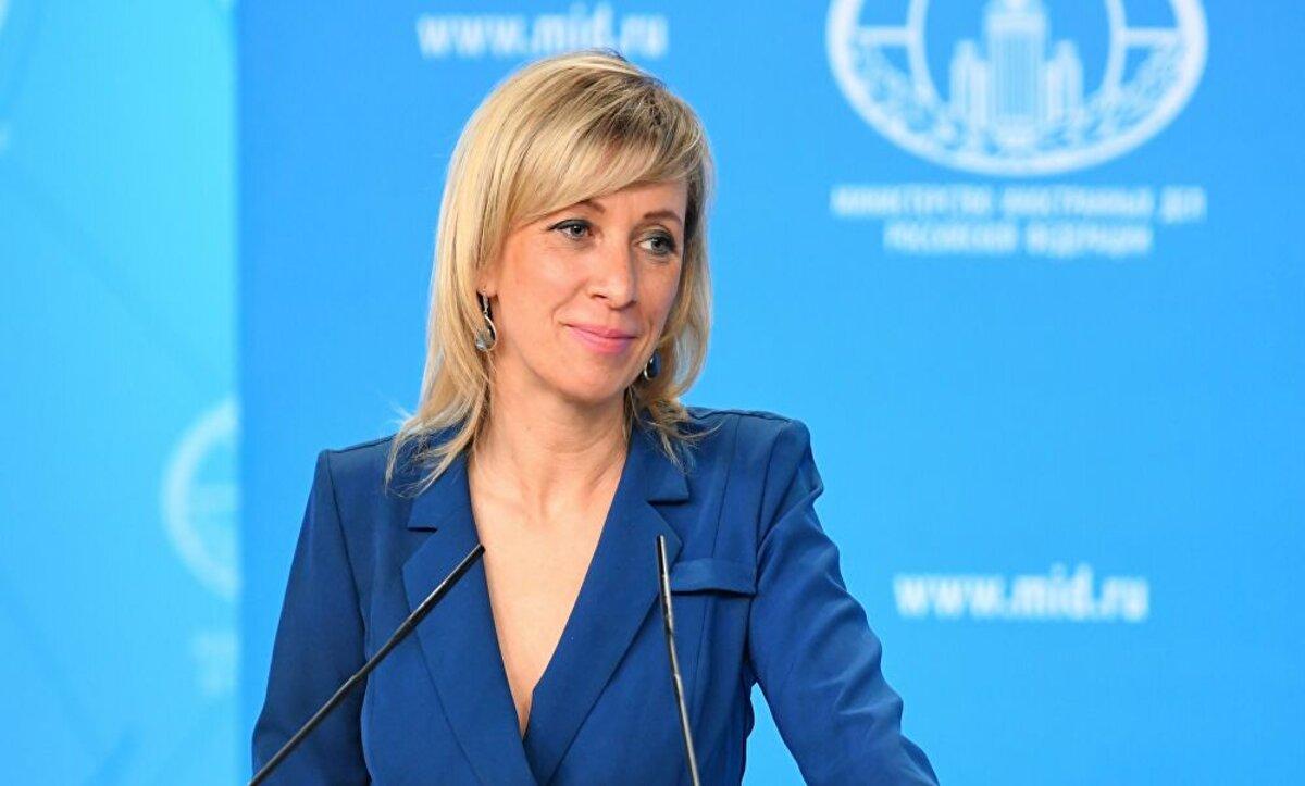 ماريا زخاروفا - المتحدثة باسم الخارجية الروسية