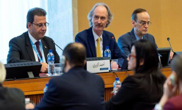 محادثات اللجنة الدستورية السورية   المعارضة السورية تعلن أولوياتها في محادثات اللجنة الدستورية القادمة