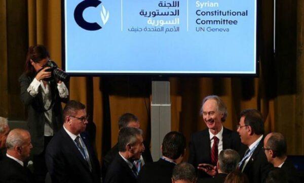 محادثات اللجنة الدستورية - وكالات