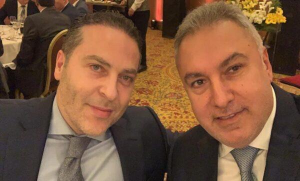 محمد حمشو وسامر فوز - مواقع التواصل   غرفة التجارة العربية الألمانية تقرر استبعاد رجل الأعمال السوري محمد حمشو