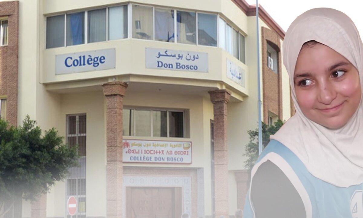 مدرسة فرنسية والطفلة المغربية سندس