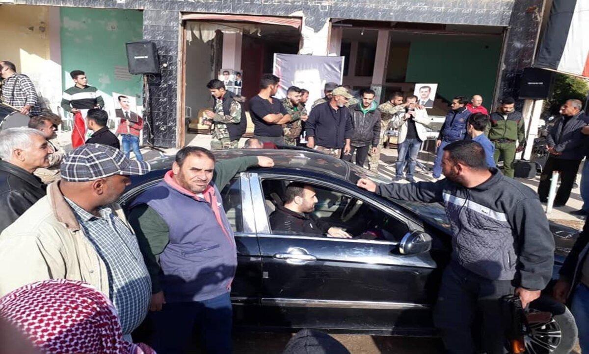 مناطق سيطرة نظام الأسد في سوريا