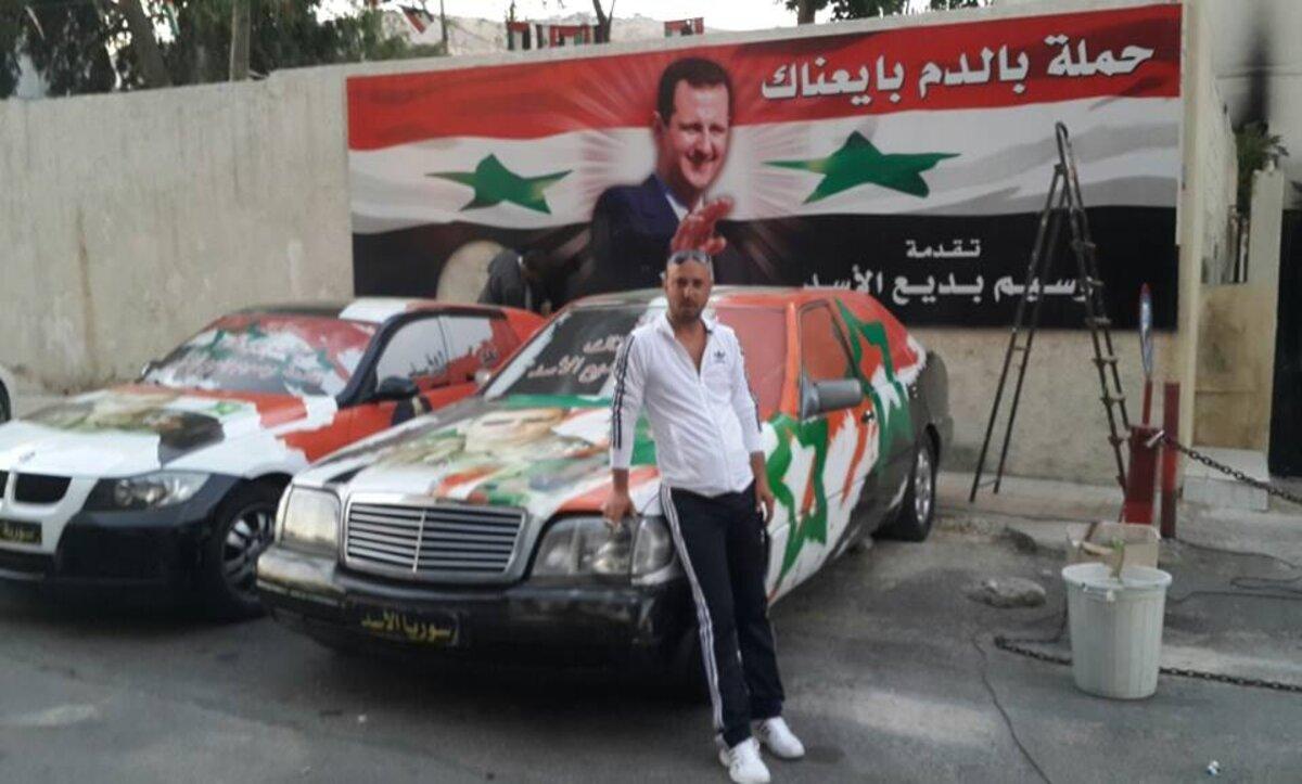 وسيم الأسد - مواقع التواصل