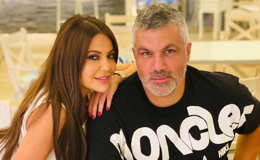 ليليا الأطرش مع فارس كرم