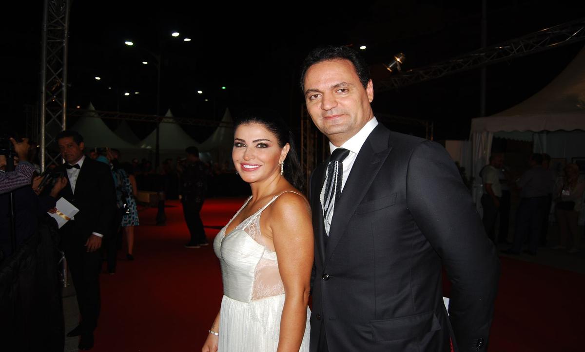 جومانا مراد وزوجها