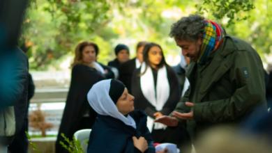 "Photo of نادين خوري تبدأ تصوير دورها في الفيلم السينمائي ""أنت جريح"" (صور)"