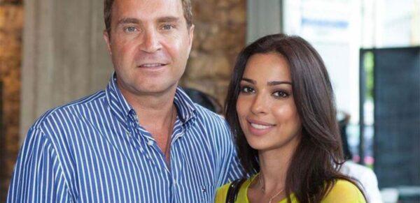 نادين نسيب نجيم مع زوجها السابق