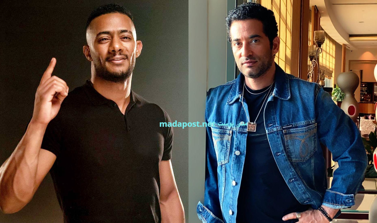 عمرو سعد ومحمد رمضان