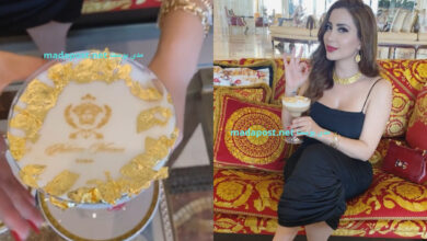 Photo of نسرين طافش تتحدث عن أبسط النعم بينما تشرب كابتشينو بالذهب! (فيديو)