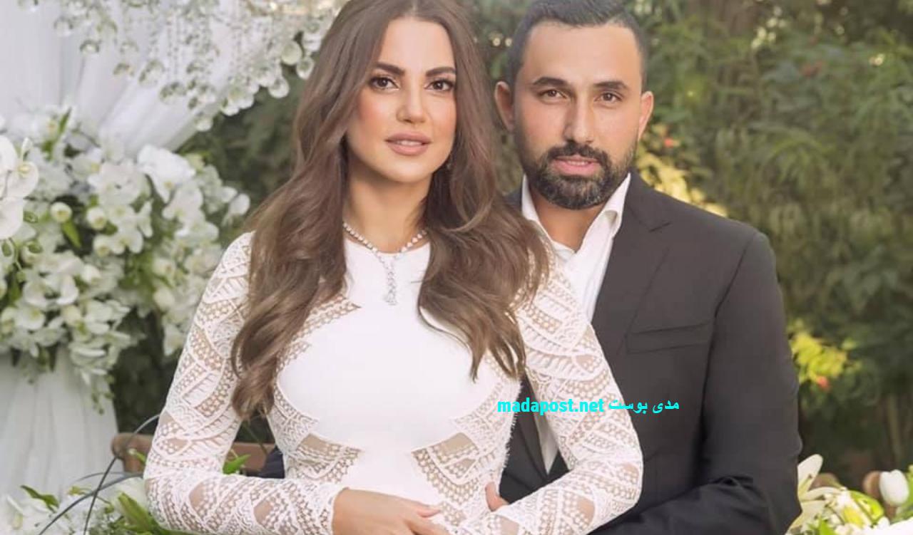 درة زروق مع هاني سعد