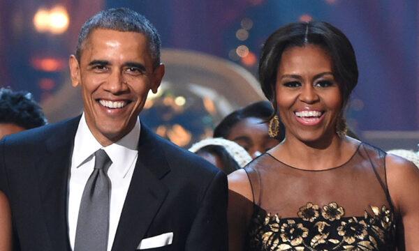 باراك أوباما وزوجته