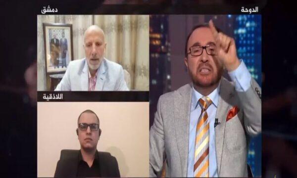 الاتجاه المعاكس - فيصل القاسم - شريف شحادة وعبد الرحمن الصالح   الاتجاه المعاكس يتسبب بضجة كبيرة والقاسم يكشف ما فعله الأسد بالساحل في آخر حلقة
