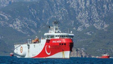 "Photo of تركيا تعلن تمديد مهام سفينة ""الريس عروج"" للتنقيب شرقي المتوسط"