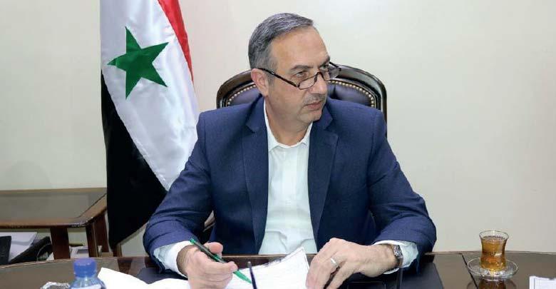 علاء إبراهيم محافظ ريف دمشق