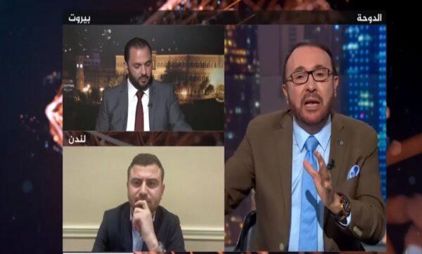 فيصل القاسم لضيفه من لبنان: أعطي الشعب فيزا ولن يبقى منه أحد (فيديو)