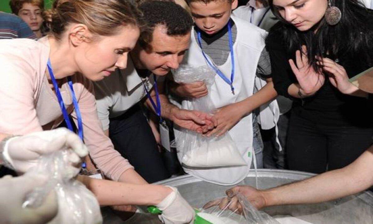 مساعدات الأمم المتحدة تذهب لأسماء الأسد - صحيفة ألمانية