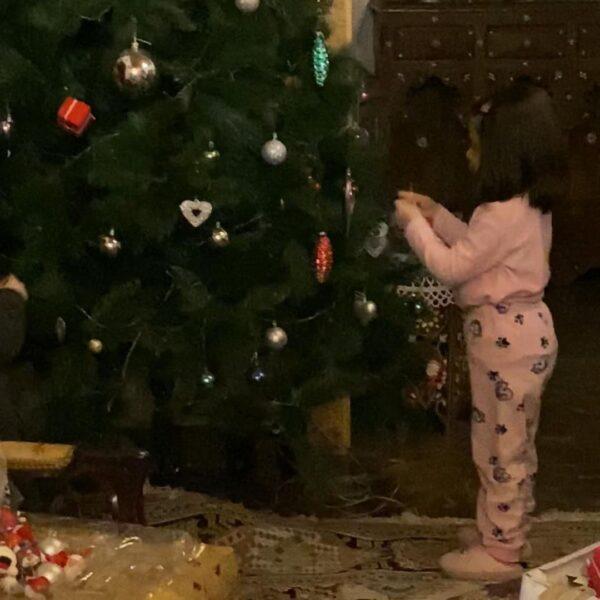 لمارا ابنة نادين تحسين بيك