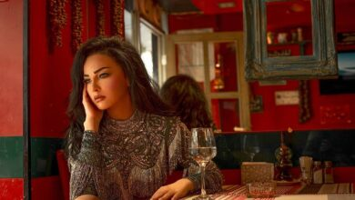 Photo of الفنانة صفاء سلطان متألقة بفستان من تصميم علاء سركيس في أحدث جلسة تصوير (صور/ فيديو)