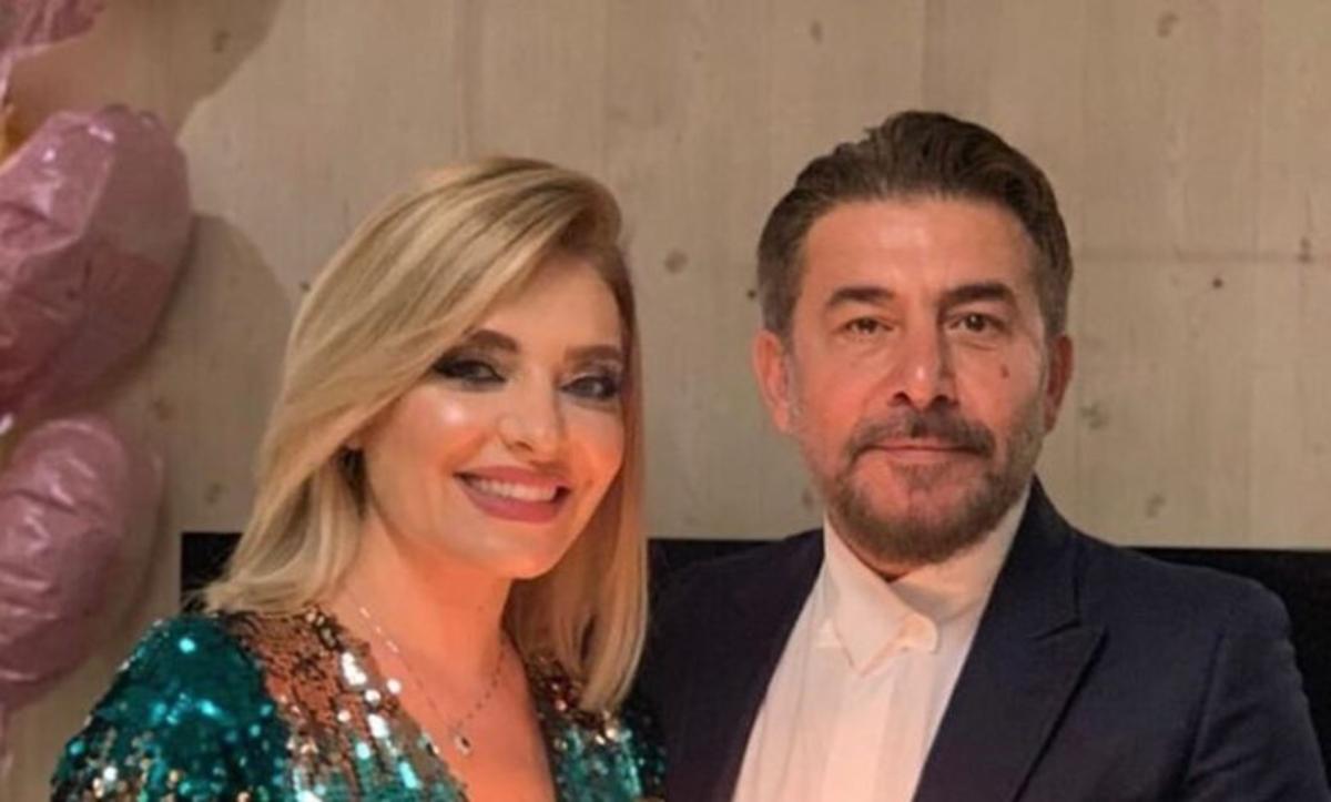 عابد فهد وزوجته