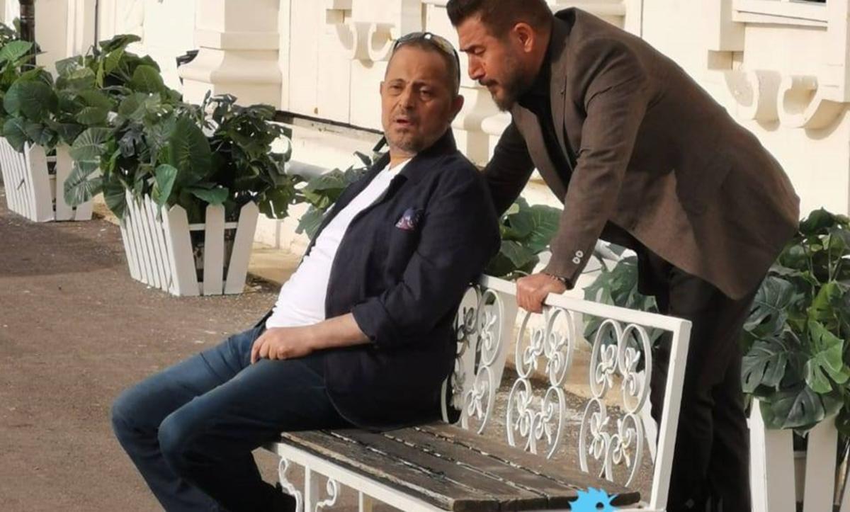 عابد فهد وجورج