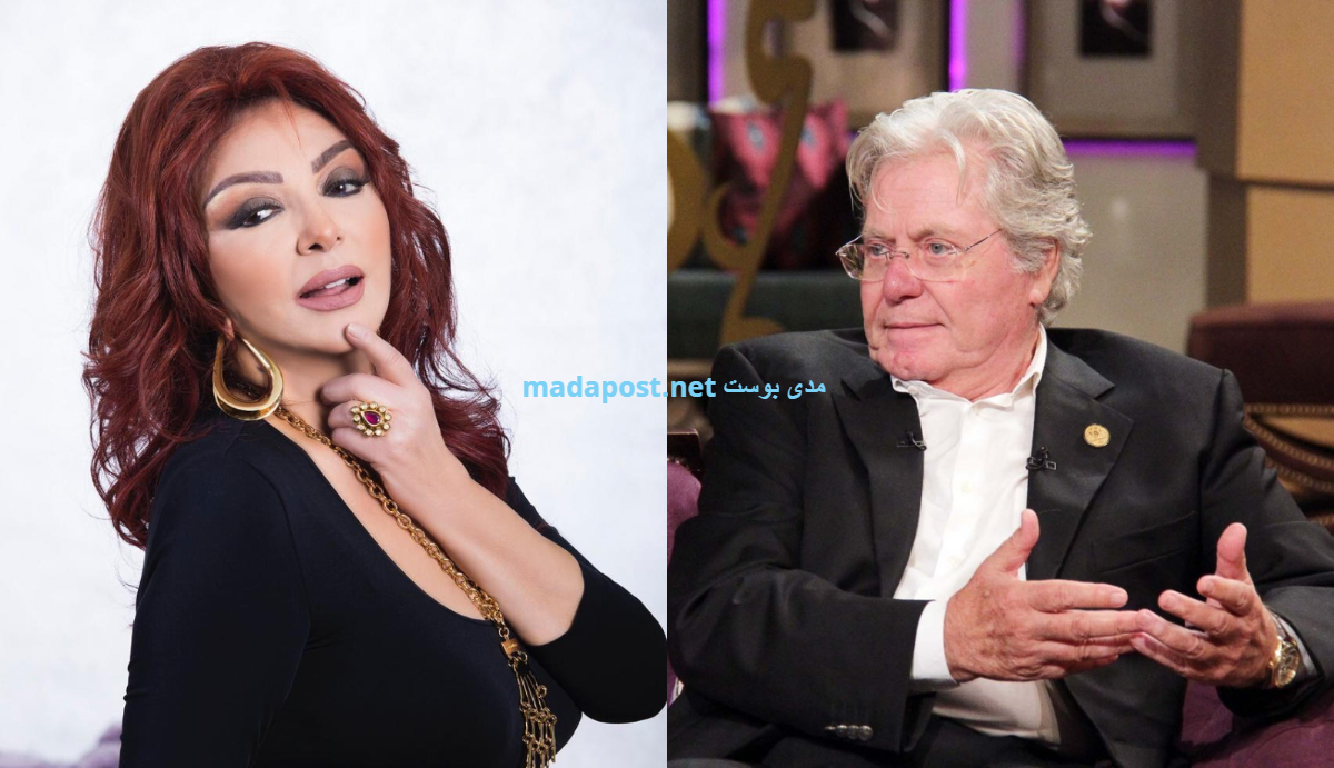 حسين فهمي ونبيلة عبيد