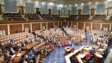 Photo of تغطية مباشرة لأعمال جلسة الكونغرس للمصادقة على الفائز بالانتخابات الأمريكية (فيديو)