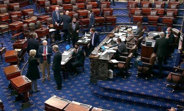 تغطية مباشرة لأعمال جلسة الكونغرس للمصادقة على الفائز بالانتخابات الأمريكية (فيديو)