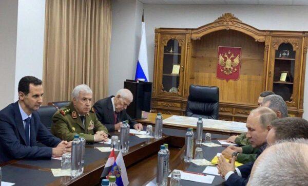 بوتين في سوريا - وكالات  بوتين عن سياسة بلاده في سوريا: المصالح فوق كل شيء