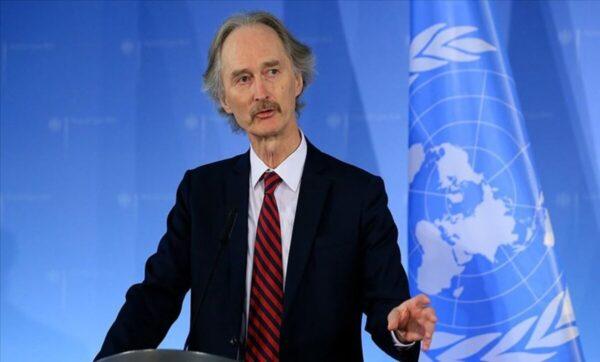 قبل ساعات من محادثات اللجنة الدستورية.. بيدرسون: الهدوء في سوريا قد ينتهي في أي لحظة