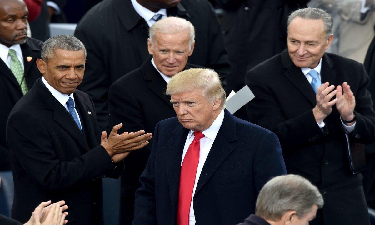 ترامب يخالف البروتوكول الأمريكي و مراسم تنصيب غير مسبوقة في البيت الأبيض