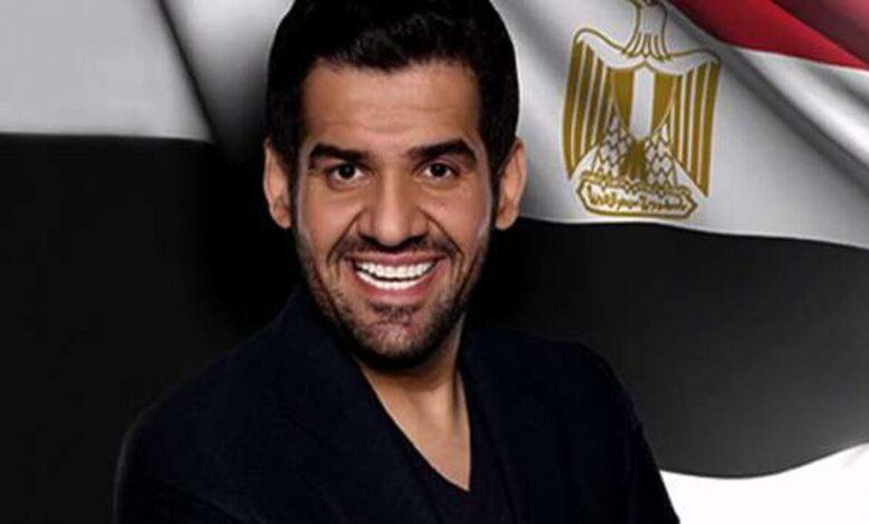 Photo of حسين الجسمي: لو أغني كل يوم 100 أغنية عن مصر مش كفاية (فيديو)