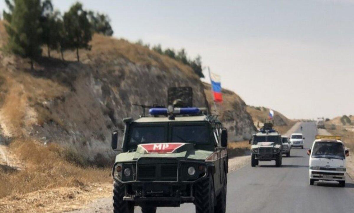 طريق القامشلي شرق سوريا