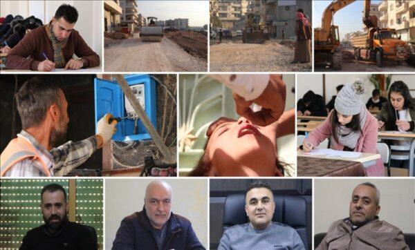 غصن الزيتون .. ثلاثة أعوام من الأمن وعودة الاستقرار إلى عفرين