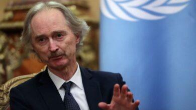Photo of قبل ساعات من محادثات اللجنة الدستورية.. بيدرسون: الهدوء في سوريا قد ينتهي في أي لحظة