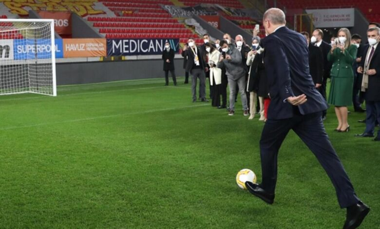 """Photo of أردوغان تعليقاً على هدف له في كرة القدم: """"لا تتوقف .. واصل الأهداف"""""""