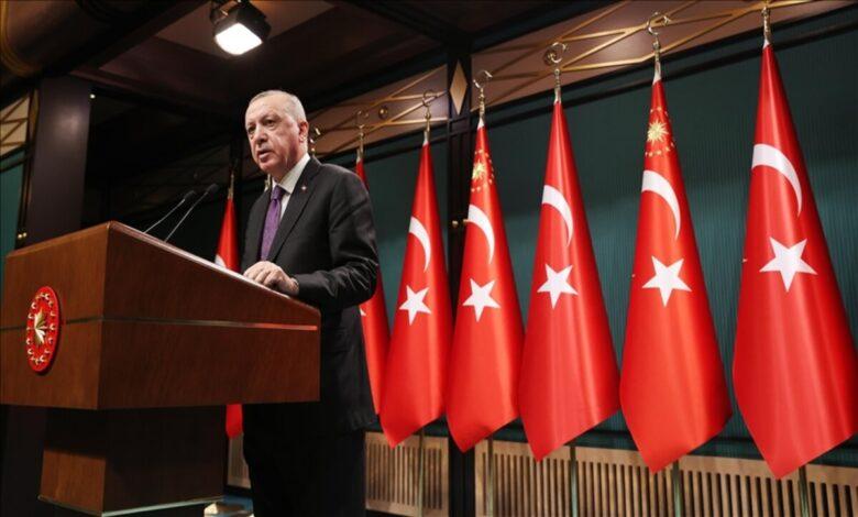 Photo of أردوغان يتحدث عن دستور جديد ومساعدات مالية مستمرة من تركيا