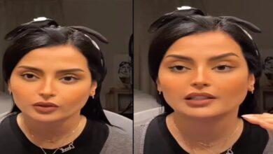 Photo of السعودية بدور البراهيم ترد على بوكيه ورد أحمر وصلها إلى غرفتها في الفندق (فيديو)