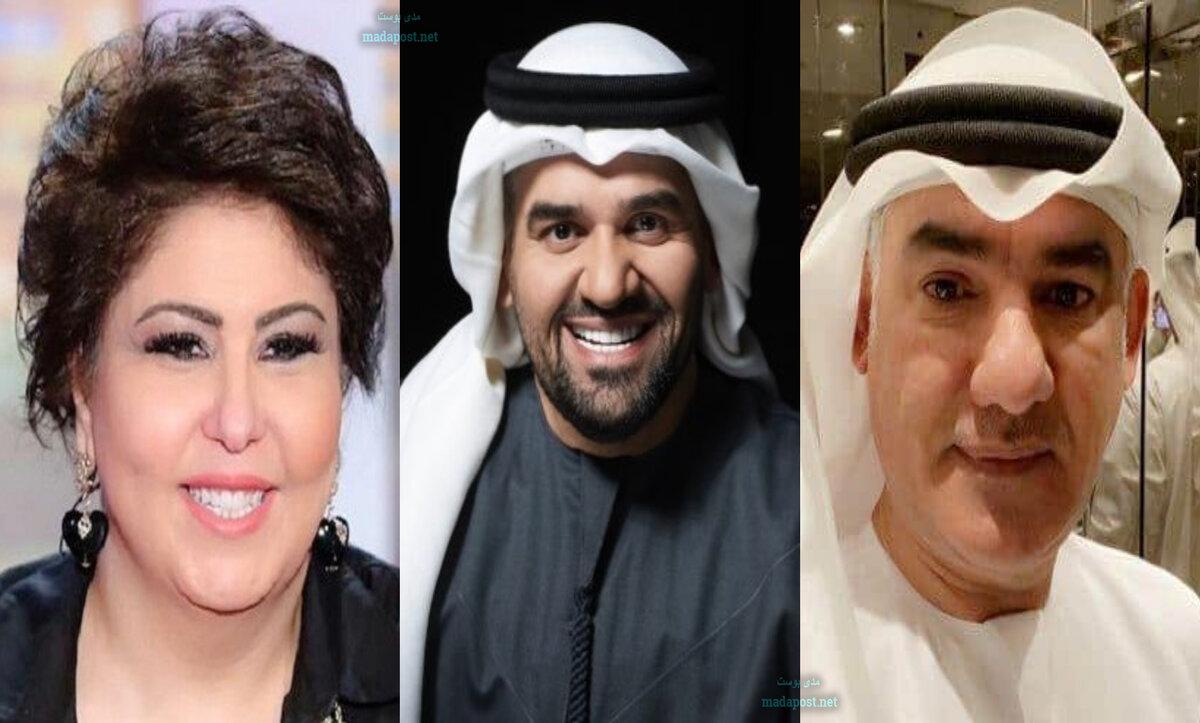 فجر السعيد تدخل في خلاف مع عائلة حسين الجسمي بسبب تغريدة عن الكويت