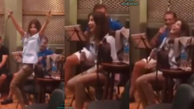 "Photo of نانسي عجرم تشارك رقصة عفوية في فيديو نادر لها من أيام ""البروفات"""