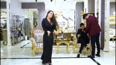 "Photo of فيديو مسرب .. رقص و أسئلة جريئة في لقاء بين العراقي نزار الفارس واللبنانية ""أليسار"""