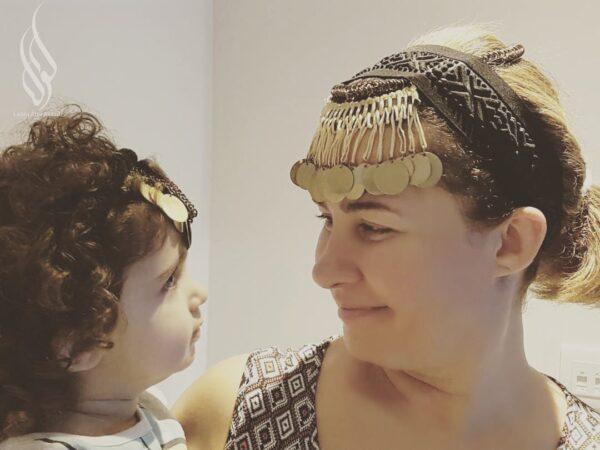 لورا أبو أسعد وابنتها