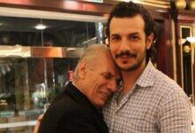 """Photo of باسل خياط يحيي الذكرى السنوية الأولى لرحيل والده ويعلق: """"كم أنا صغير بعد فراقك"""" (صورة)"""
