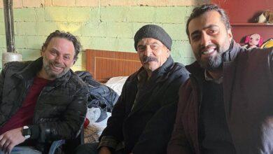 Photo of باسم ياخور وسلوم حداد وسيف الدين سبيعي من كواليس مسلسل في وضح النهار (صور)