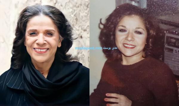 سامية الجزائري في شبابها