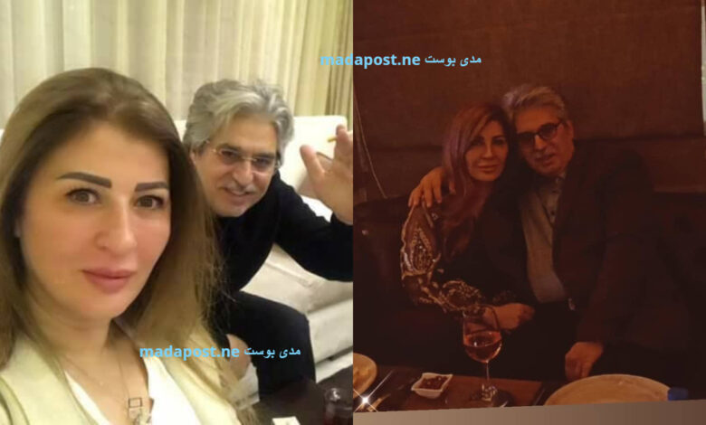 Photo of عباس النوري في صورة مع زوجته، ويعلق: الدفا يلي بيبدأ بالقلوب هو وحده مصدر القوة (صور)