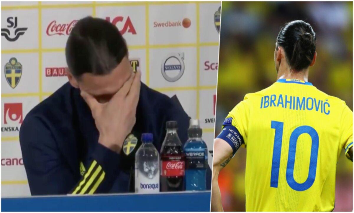 إبراهيموفيتش يبكي خلال مؤتمر صحفي بعد قرار عودته لمنتخب السويد (فيديو) مدى بوست - فريق التحرير بكى نجم نادي إي سي ميلان الإيطالي لكرة القدم