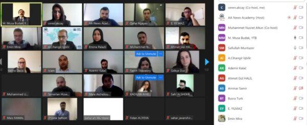 وكالة الأناضول تبدأ برنامجاً تدريبياً إعلامياً موجهاً لخريجي الجامعات التركية بالتعاون مع رئاسة YTB